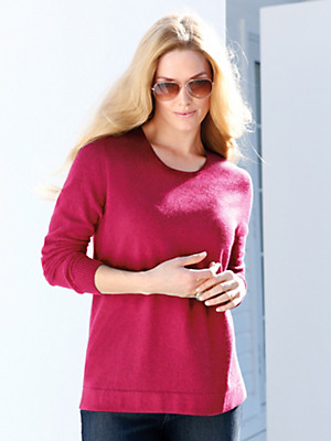 Anna Aura - Rundhals-Pullover aus reinem Kaschmir–Modell RUBY