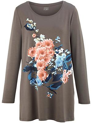Anna Aura - Rundhals-Shirt in A-Linie
