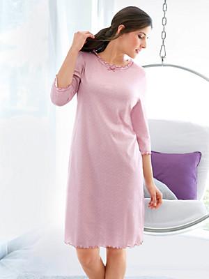 Anna Aura - Sleepshirt mit 3/4-Arm aus 100% Baumwolle