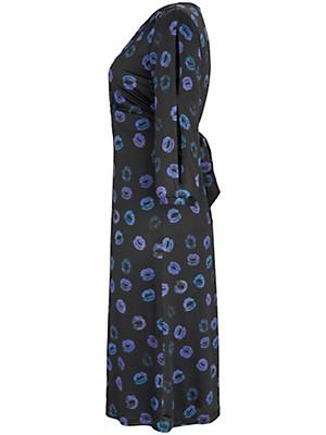 Anna Scholz for sheego - Jerseykleid mit V-Ausschnitt und 3/4- Ärm