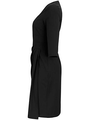 Anna Scholz for sheego - Stretch-Kleid 2-in-1- Optik mit 3/4-Ärmeln