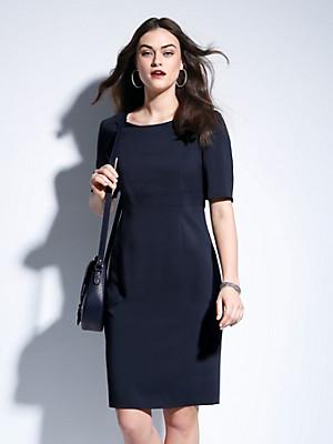 Basler - Figurnahes Etui-Kleid in reiner Schurwolle