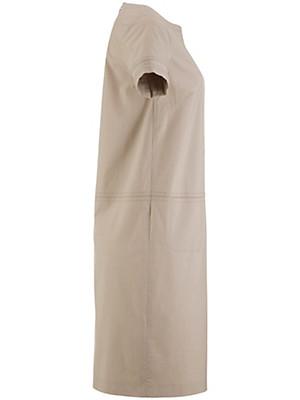 bogner kleid mit u boot ausschnitt beige. Black Bedroom Furniture Sets. Home Design Ideas