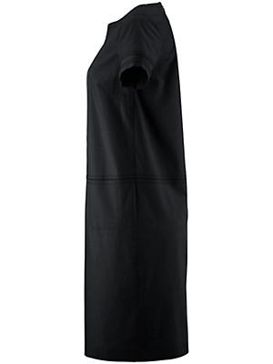 bogner kleid mit u boot ausschnitt schwarz. Black Bedroom Furniture Sets. Home Design Ideas