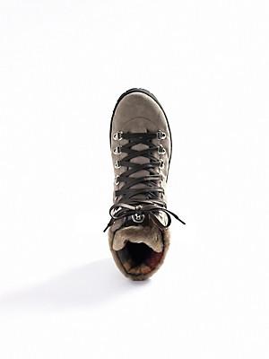 Bogner - Schnür-Stiefelette aus Kalbsveloursleder