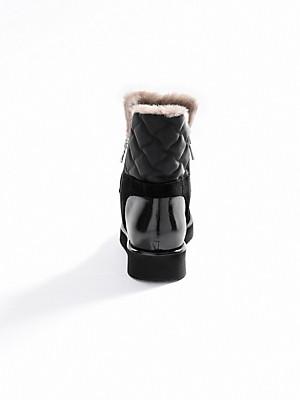 Bogner - Stiefelette aus Kalbsveloursleder