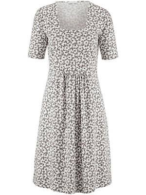 Efixelle - Jersey-Kleid mit 1/2-Arm