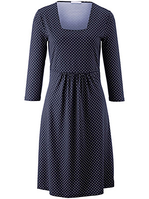 Efixelle - Jersey-Kleid mit Punkte-Druck