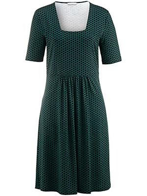 Efixelle - Jersey-Kleid mit Punkte-Print