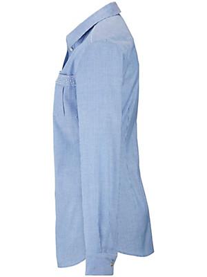 Emilia Lay - Bluse mit feinem Streifen-Dessin