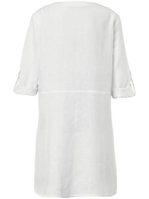Emilia Lay - Longbluse mit 3/4-Arm aus 100% Leinen