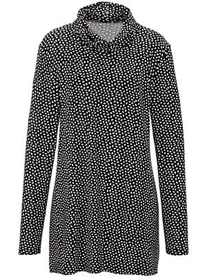 Emilia Lay - Shirt mit halsfernem Rollkragen