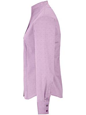 Eterna - Bluse mit Kelchkragen