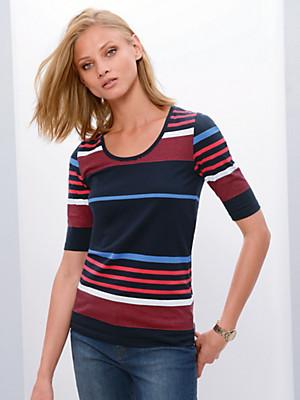 Fadenmeister Berlin - Rundhals-Shirt mit langem 1/2-Arm