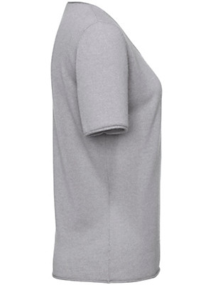 FLUFFY EARS - Rundhals-Pullover aus 100% Kaschmir