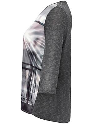 FRAPP - Rundhals-Shirt mit 3/4-Arm