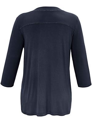 FRAPP - V-Shirt mit 3/4-Arm
