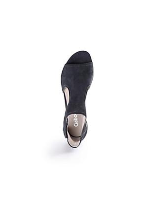 Gabor - Sandale aus Kalbsnubukleder