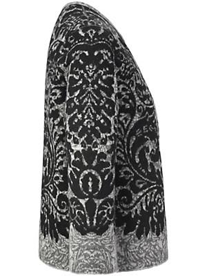 Inkadoro - Kurz-Strickjacke aus 100 % Alpaka