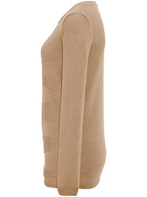 Inkadoro - Rundhals-Pullover in legerer Form