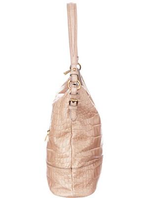 Joop! Taschen - Shopper aus Rindsleder mit Kroko-Prägung