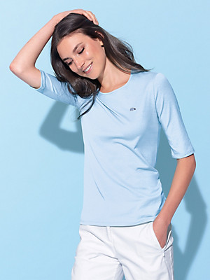 Lacoste - Rundhals-Shirt mit langem 1/2-Arm