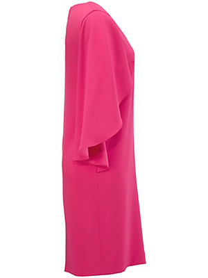 laur l kleid mit tiefem v ausschnitt pink. Black Bedroom Furniture Sets. Home Design Ideas