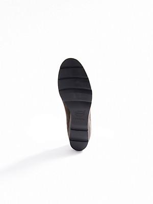 Ledoni - Slipper aus wasserabweisendem  Kalbsveloursleder
