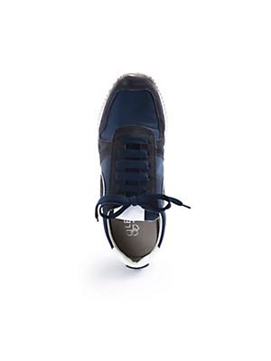 Ledoni - Sneaker aus Kalbsveloursleder