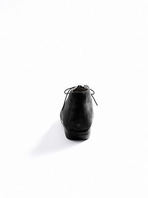 Ledoni - Stiefelette aus erstklassigem Kalbsveloursleder