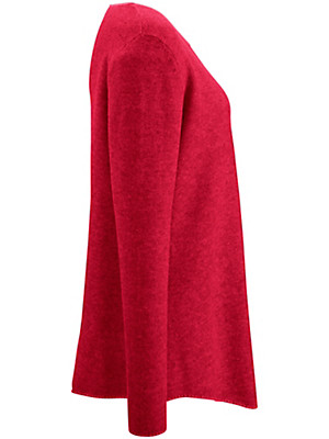 LIEBLINGSSTÜCK - Long-Pullover aus 100% Schurwolle