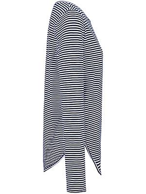LIEBLINGSSTÜCK - Ringel-Shirt mit gesticktem Schriftzug