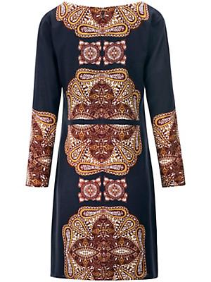Looxent - Kleid mit Rundhals-Ausschnitt und 100% Viskose