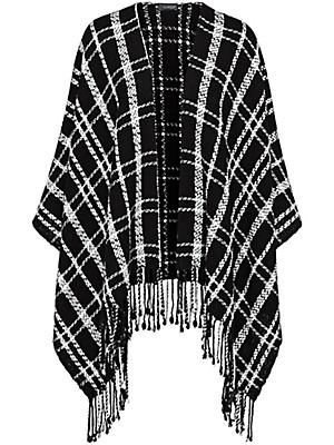 Looxent - Poncho aus 100% Schurwolle