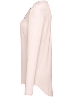 Looxent - Shirt-Bluse mit Rundhals-Ausschnitt