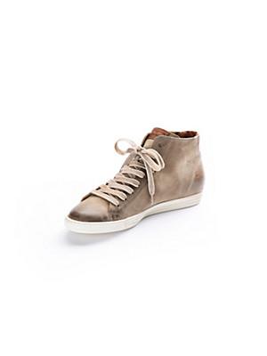 Paul Green - Knöchelhoher Sneaker aus Ziegenveloursleder