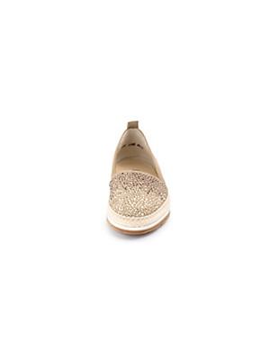 Paul Green - Slipper aus softem Ziegennubukleder