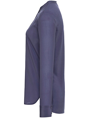 Peter Hahn - Bluse mit kleinem Stehkragen