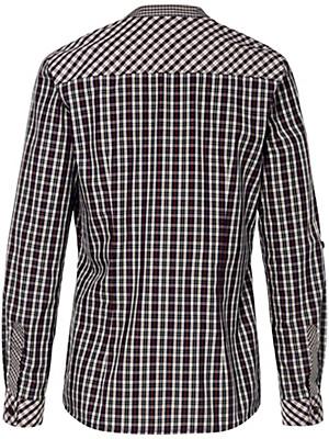 Peter Hahn - Bluse mit schmalem Stehkragen