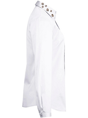 Peter Hahn - Bluse mit verdeckter Knopfleiste