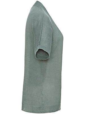 Peter Hahn - Cardigan mit 1/2-Arm aus 100% Leinen
