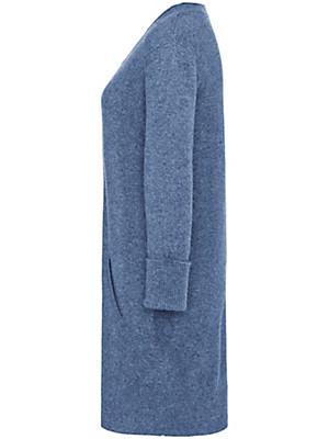 Peter Hahn Cashmere - Long-Pullover mit 3/4-Arm aus reinem Kaschmir