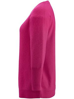 Peter Hahn Cashmere - Oversized-Pullover mit 3/4-Arm