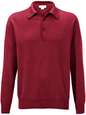 Peter Hahn Cashmere - Polo-Pullover in reinem Kaschmir– Modell PAUL