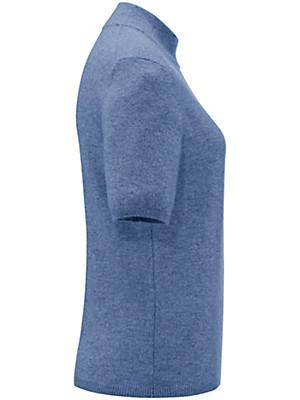 Peter Hahn Cashmere - Stehkragen-Pullover mit 1/2-Arm – Modell SABINE