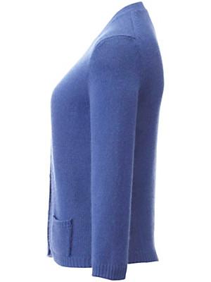 Peter Hahn Cashmere - Strickjacke aus reinem Kaschmir mit 3/4-Arm