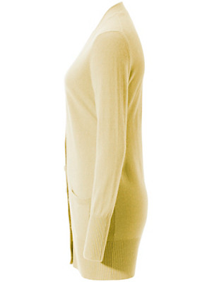 Peter Hahn Cashmere - Strickjacke aus reinem Kaschmir – Modell JENNIFER