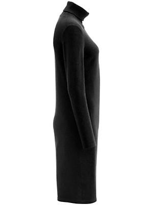 Peter Hahn Cashmere - Strickkleid mit Rollkragen aus reinem Kaschmir