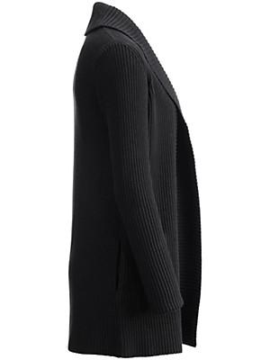 Peter Hahn - Extralange Strickjacke mit Schalkragen