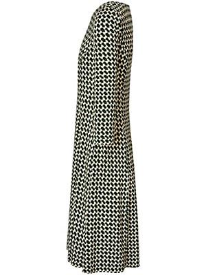 Peter Hahn - Jersey-Kleid mit 3/4-Arm und Rundhals-Ausschnitt